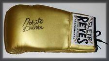 Roberto Duran Autógrafo personalmente Firmada A Mano Guante De Boxeo