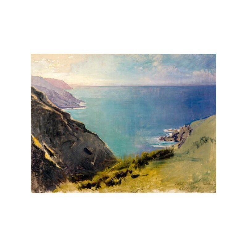 Quadro su Pannello in Legno Legno in MDF Abbott Handerson Thayer Cornish Headlands 502aa6