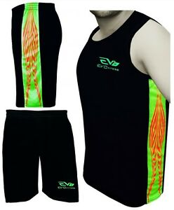 Sporting Goods Rapture Evo Men Singlet Tank Top Sports Shorts Running Basketball Soccer Football Gym We