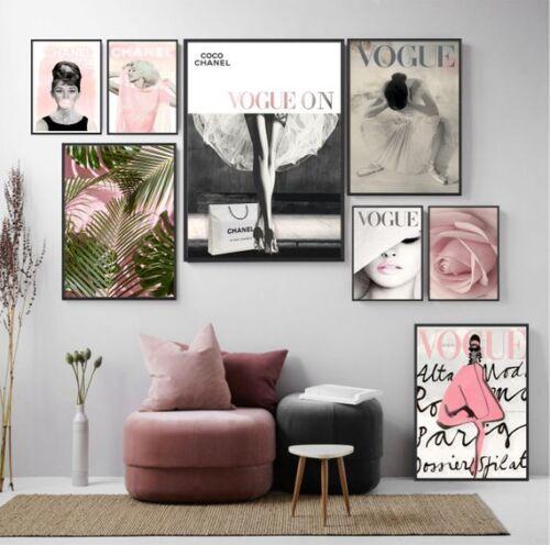 Fashion Wall Art Marilyn Monroe Fashion Vogue Print Vogue print Vogue Cover