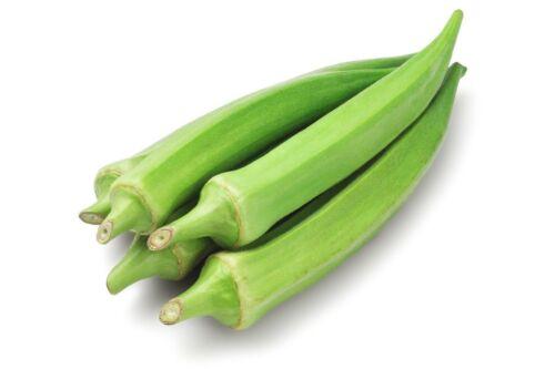 Okra Clemson Spineless Non GMO Heirloom Garden Vegetable Seeds Sow No GMO® USA