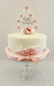 Image Is Loading HAPPY BIRTHDAY CAKE PICK HEART BURST TOPPER