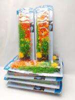 48 Tall Large Top Fin Plastic Aquarium Plants 12 Retail Pks Wholesale Free Ship