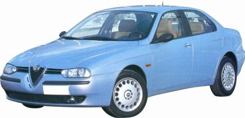 FARO FANALE ANTERIORE Alfa Romeo 156 PARABOLA NERA 1997-2003 DESTRO