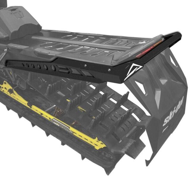 White Skinz Protective Gear SDRB460-WHT Rear Custom Aluminum Bumper