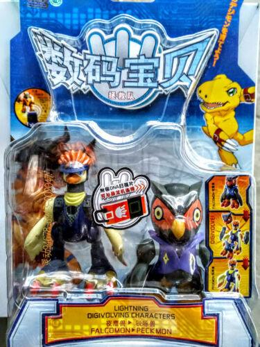 Bandai Digimon DX 10 cm Action figure Spirit Digivolving Falcomon to Peckmon