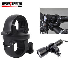 360° Rotation Torch Mount Bike Bicycle Front Light Bracket Flashlight Holder DE