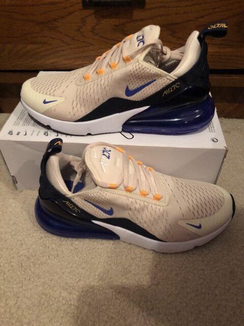a35178f7 Nike Air Max 270 Mowabb Womens AH6789-202 Cream Violet Running Shoes Size 5