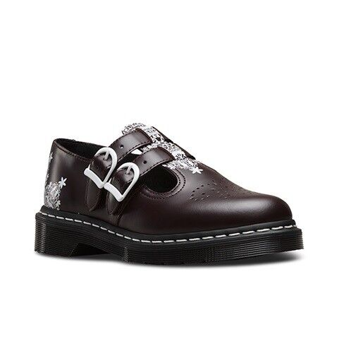 DR. Martens 8065 Scarpa Tg liscia in Pizzo Rosso Tg Scarpa bc0d9a