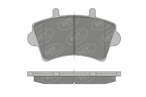 Front Brake Pads for Vauxhall Nissan Renault