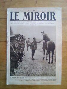 Le-miroir-Guerre-14-18-N-251-1918-sir-douglas-haig-felicite-les-canadiens