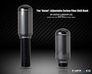 NRG Shift Knob The Baton Adjustable Shift Knob - M10 x 1.25 - Part ...