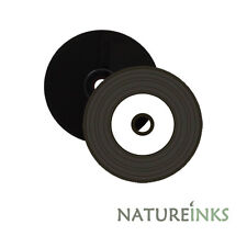 10 Mediarange Black Bottom Vinyl CD-R White Printable Blank CD 52x 700MB MR226