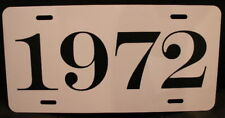 1972 License Plate Fits Cuda Challenger Dart Road Runner Charger Duster 340 Rt