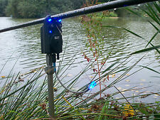 3 x Bite alarm illuminated bite indicators,hanger,bobbin,Carp,Pike,Cat fishing