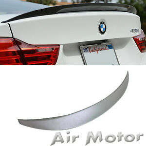 Unpainted Bmw F32 428i 435i 420d Performance P Style Boot