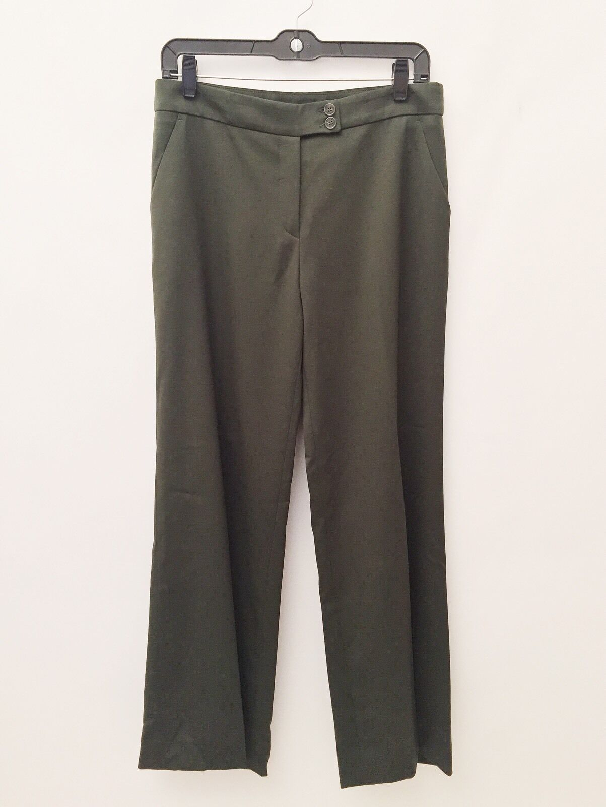 Etro Size 44 Ladies Dark Green Pants