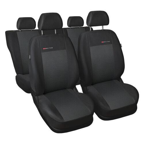 Volkswagen Polo 4 01-09 5-escaños fundas para asientos funda del asiento ya referencias ya referencia auto