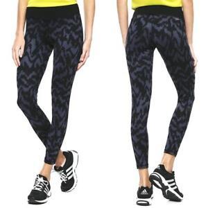adidas-BASIC-Long-Tight-Print-2-Hose-Sporthose-Fitness-Training-Leggings