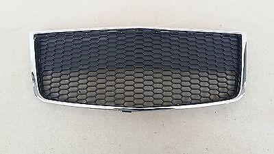 Griglia inferiore paraurti per chevrolet aveo 2011 in poi nera e cromata