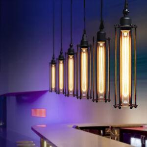 Retro Vintage Flute Pendant Lamp Kitchen Industrial Bar Hanging Ceiling Light