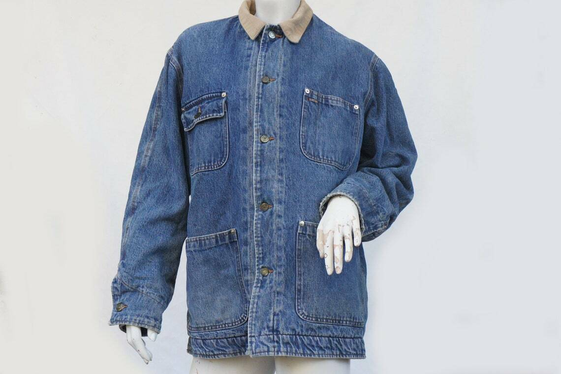 Vintage 80s Men's Ralph Lauren Polo Jean Jacket - image 1