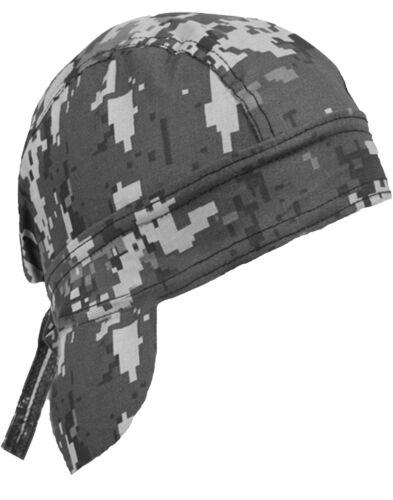 Camouflage Skull Cap Camo Doo Rag Bandana Headwrap Chemo Motorcycle Helmet Liner