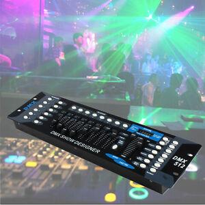pro light 192ch dmx controller board 12scanner for stage light dj laser party ebay. Black Bedroom Furniture Sets. Home Design Ideas