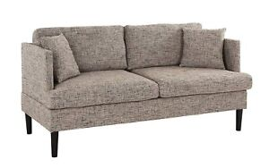 Modern-Upholstered-Classic-Loveseat-Sofa-Couch-Linen-Ash-Brown