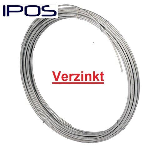 25 Kg IPOS Erdungsdraht Verzinkt Blitzschutz Rundleiter Runddraht Ø 10mm