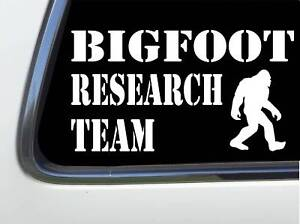 ThatLilCabin-Bigfoot-Research-Team-Sasquatch-Yeti-6-034-car-sticker-decal-AS1309