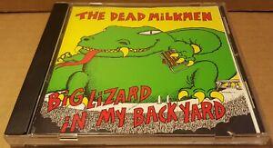 Big Lizard in My Backyard by The Dead Milkmen 1985 CD Punk ...