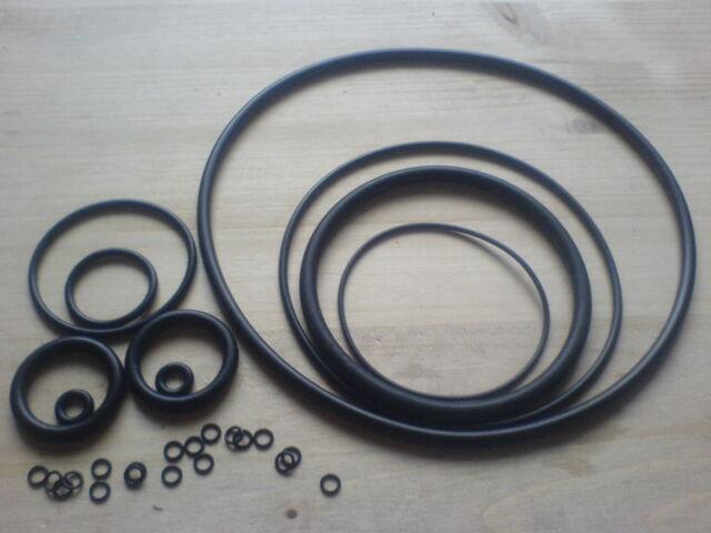 O-Ring - Rundring - Dichtring  Schnurdicke 2,50 mm NBR70  5,5 bis 135 mm Innen-Ø
