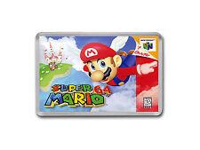 SUPER MARIO 64 Nintendo 64 N64 Carátula Del Juego Arte Imán De Nevera