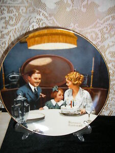 The-Birthday-Wish-Rockwell-Light-Campaign-plate-series-6-1983-Knowles