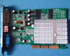 AGP card Nvidia MT-5205C NV FX5500 256MB DDR TV DVI VGA