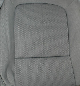 new oem ford f150 interior fabric factory original seat covers gray crew cab ebay. Black Bedroom Furniture Sets. Home Design Ideas