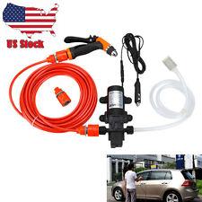 Mini Portable 80W 130PSI High Pressure Car Electric Washer Pump Water Gun 12V