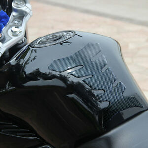 Autocycle-Motorcycle-Oil-Fuel-Tank-Protector-Sticker-Decal-Carbon-Fiber-Gel-Pad