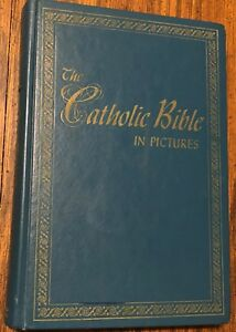 Details about The Catholic Bible in Pictures c 1956 Edited Dante Del  Fiorentino B/W