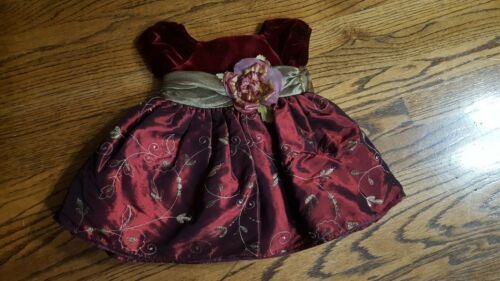 Last One! Infant Girls size 12 months Dress Preowned