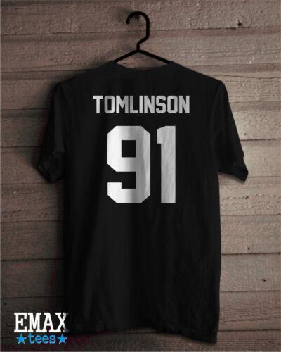 Louis Tomlinson Shirt One Direction T shirt Tomlinson 91 T-shirt Music band