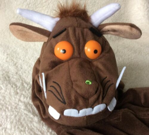 The Gruffalo All In One Fancy Dress Costume//World Book Day Boys//Girls 1-2 Years