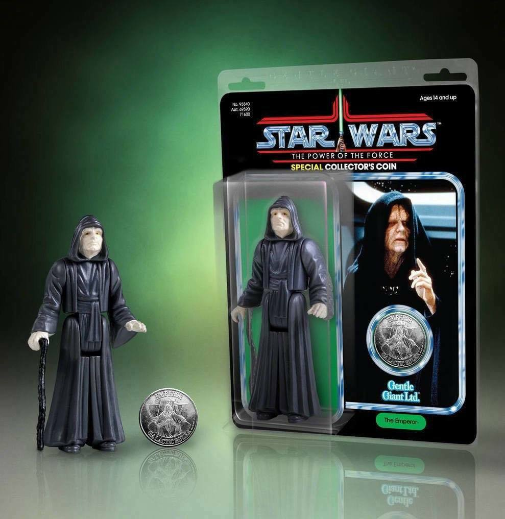 Star Wars Jumbo Kenner Figurine Empereur Palpatine