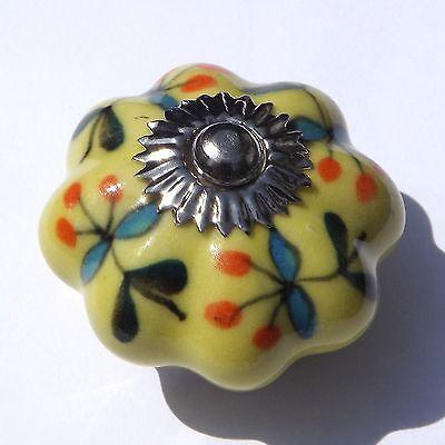 Ceramic Door Knobs  Handles Drawer cupboard wardrobe porcelain china pulls