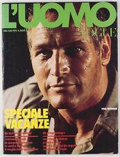 PAUL NEWMAN Irving Penn DAVID BAILEY Harri Peccinotti 70's L'UOMO VOGUE magazine