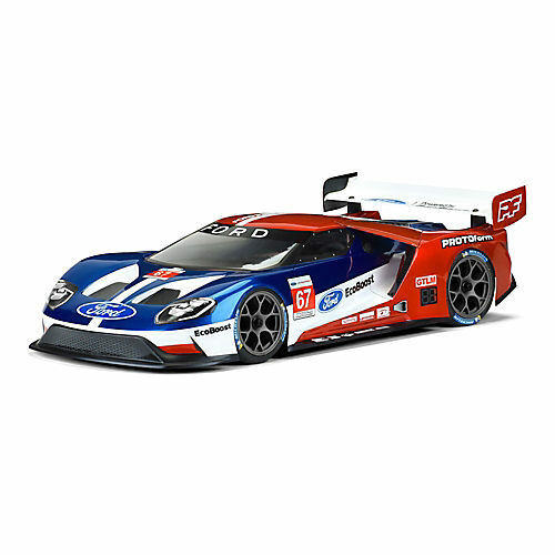 Pro-line Racing Ford GT Light Weight Clear Body 190mm PRM155025
