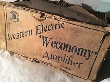 1920s (?)Western Electric Tube Amplifier Unit N。44005 In Its Earliest Own Carton