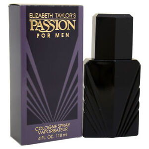 Passion-by-Elizabeth-Taylor-4-oz-Cologne-Spray-for-Men-New-In-Box