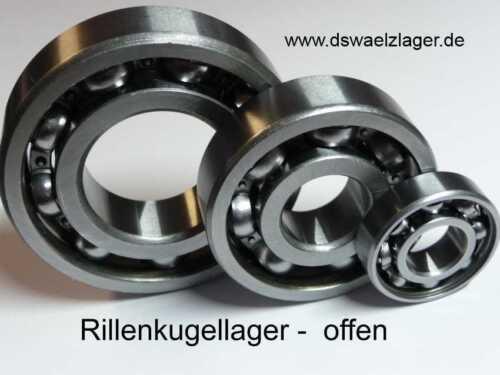 **NEU** **  1x  CODEX Rillenkugellager  6204 -offen-  ..... 20x47x14mm ....